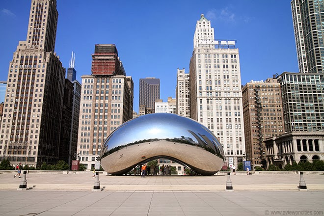 Cloud-Gate-aka-The-Bean-Millennium-Park