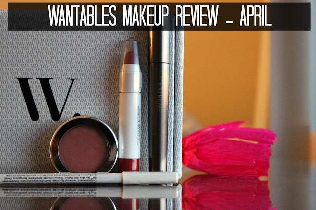 April Wantables Review | Makeup subscription service