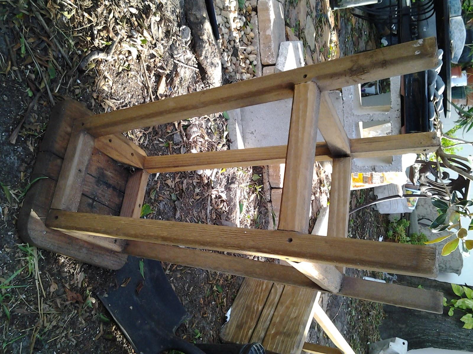 Mattyboo S Mind Diy Garden Project An Old Wooden Stool
