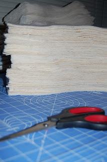 Fabric cut for cloth diapers