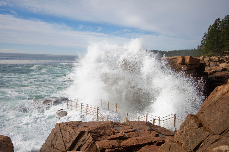 Live simple travel well planning a dream road trip for Thunder hole acadia