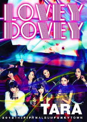 T-ara Lovey Dovey poster members