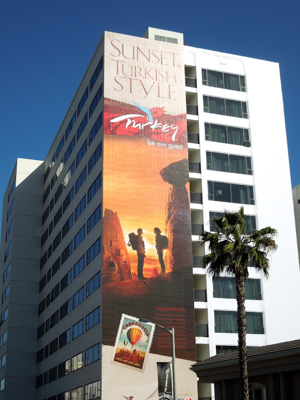 Turkey tourism billboard