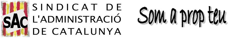 SAC - Sindicat de l'Administració de Catalunya