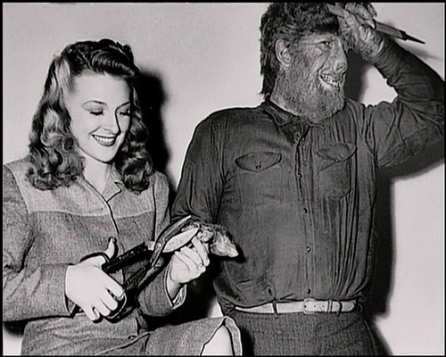 Image result for lon chaney jr and evelyn ankers photos