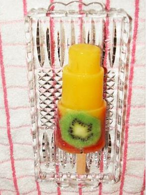 Healthy Fruit Popsicle