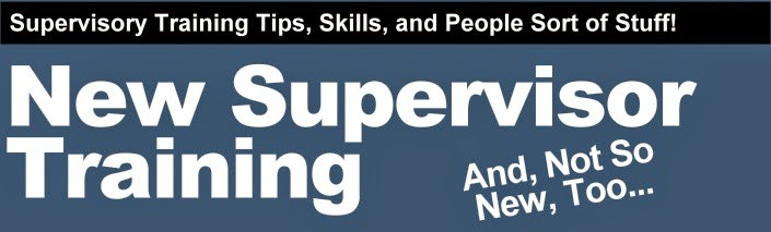 Supervisor Training Tips & Resources
