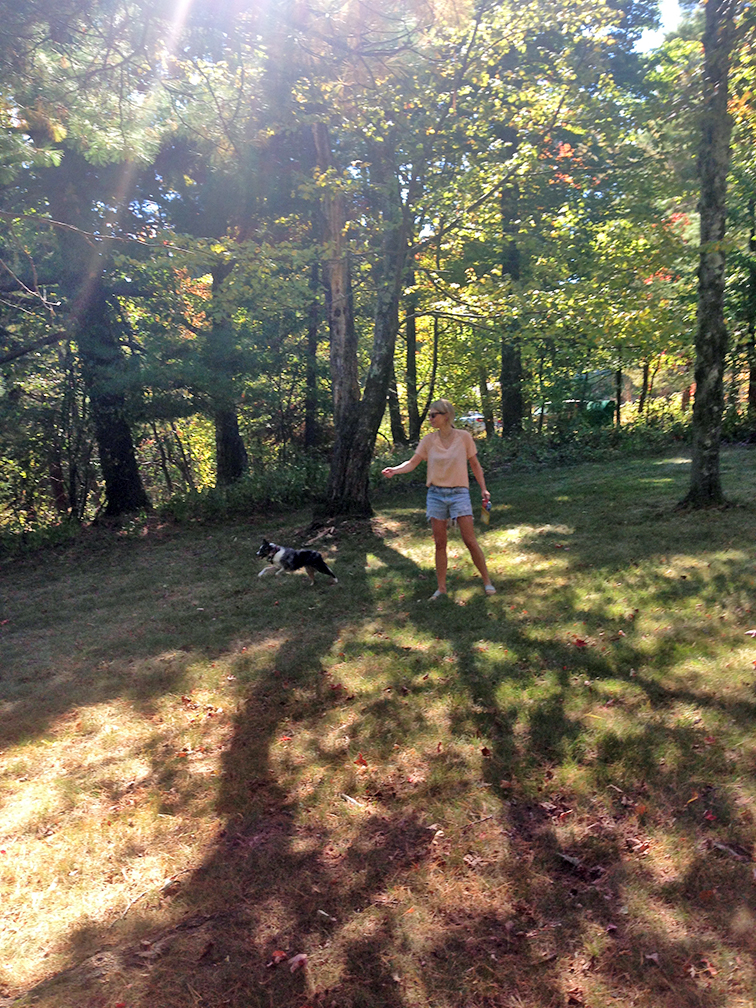 Playing with Wally, #wallyface, upstate New York, Nature, Mohonk Preserve.jpg