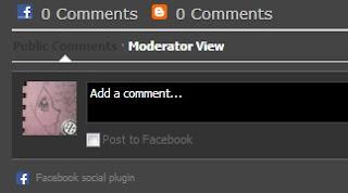 Cara Letak Komen Facebook Dan Blog Pada Sstiap Post Part 1
