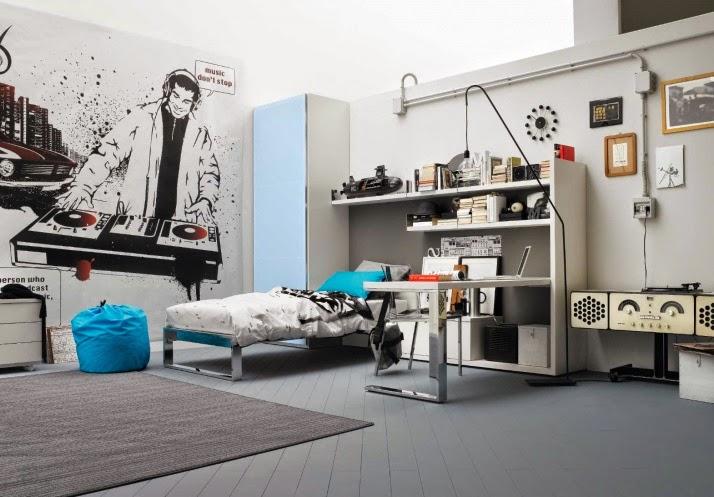 Cuartos juveniles para chicos modernos colores en casa - Silla dormitorio juvenil ...