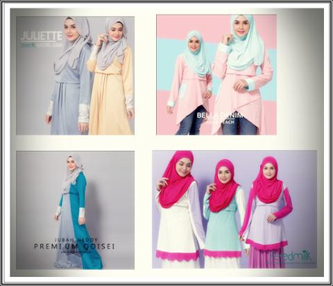 Review :: Baju Menyusu Trendy di Butik FeedMilk