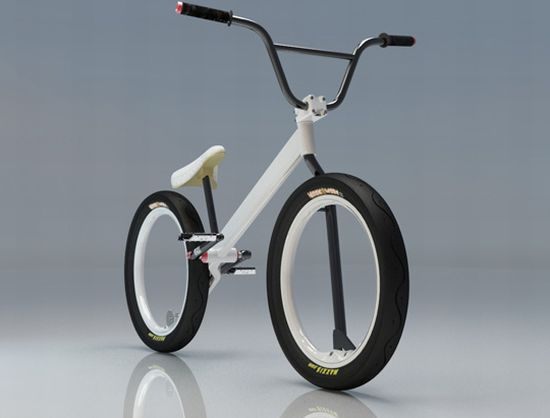 Hubless Bmx Concept Bike