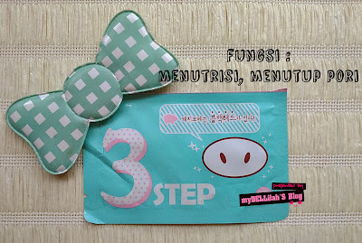 Pencetin Komedo VS Holika 'PIG NOSE CLEAR BLACKHEAD 3 STEP KIT'