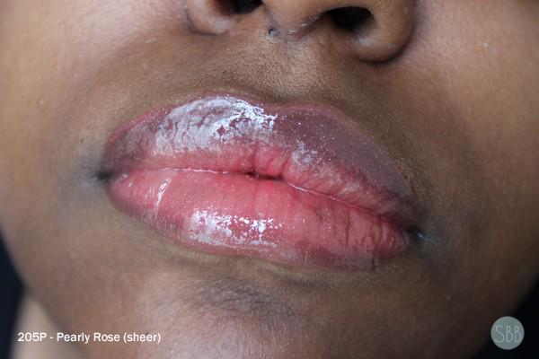 picture of pink sheer lips
