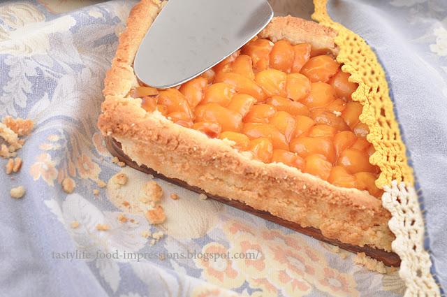 Пирог из желтой сливы рецепт