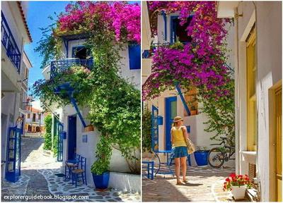 Tempat wisata di yunani santorini mykonos pulau paling indah di Yunani Skiathos Greece Yunani