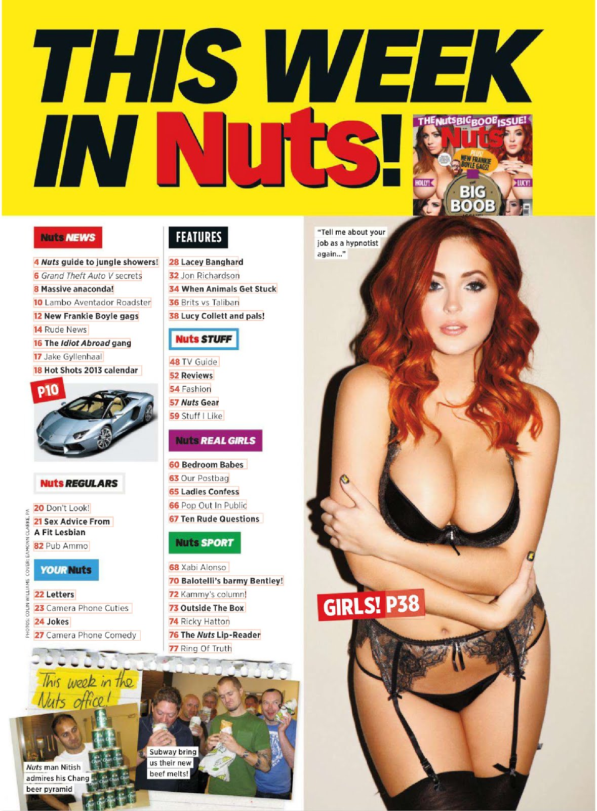 Nuts big boob issue pics