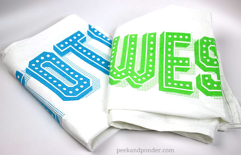 Totally Awesome Tea Towel Set