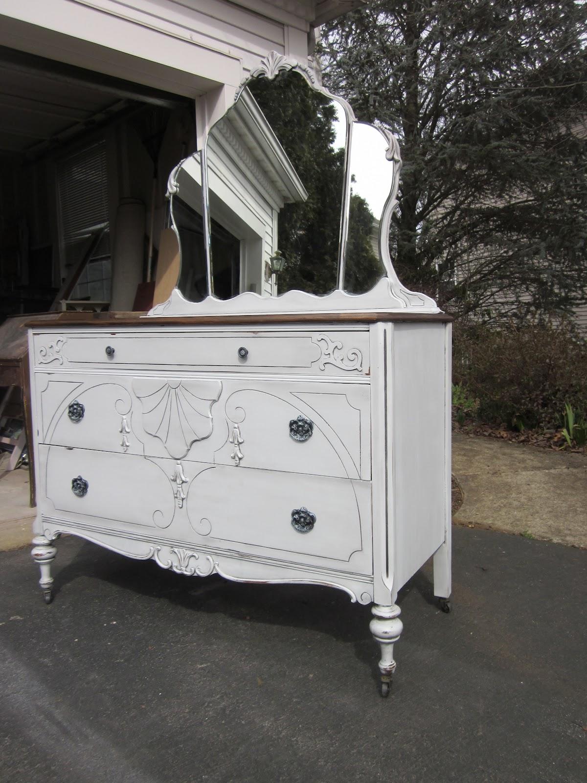 Uniquely Chic Furniture French Gray 1930 39 S Dresser