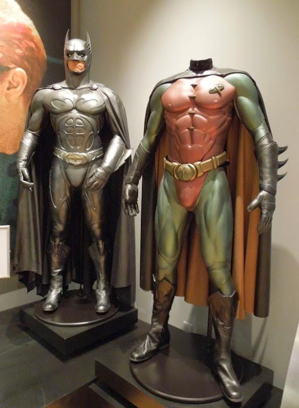 Batman Forever Val Kilmer Sonar Batsuit Chris O'Donnell Robin costume