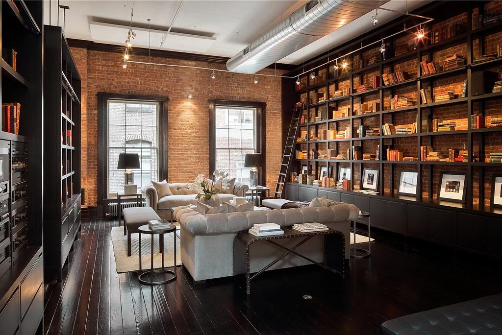D cor de provence lofty - Bibliotheque de salon design ...