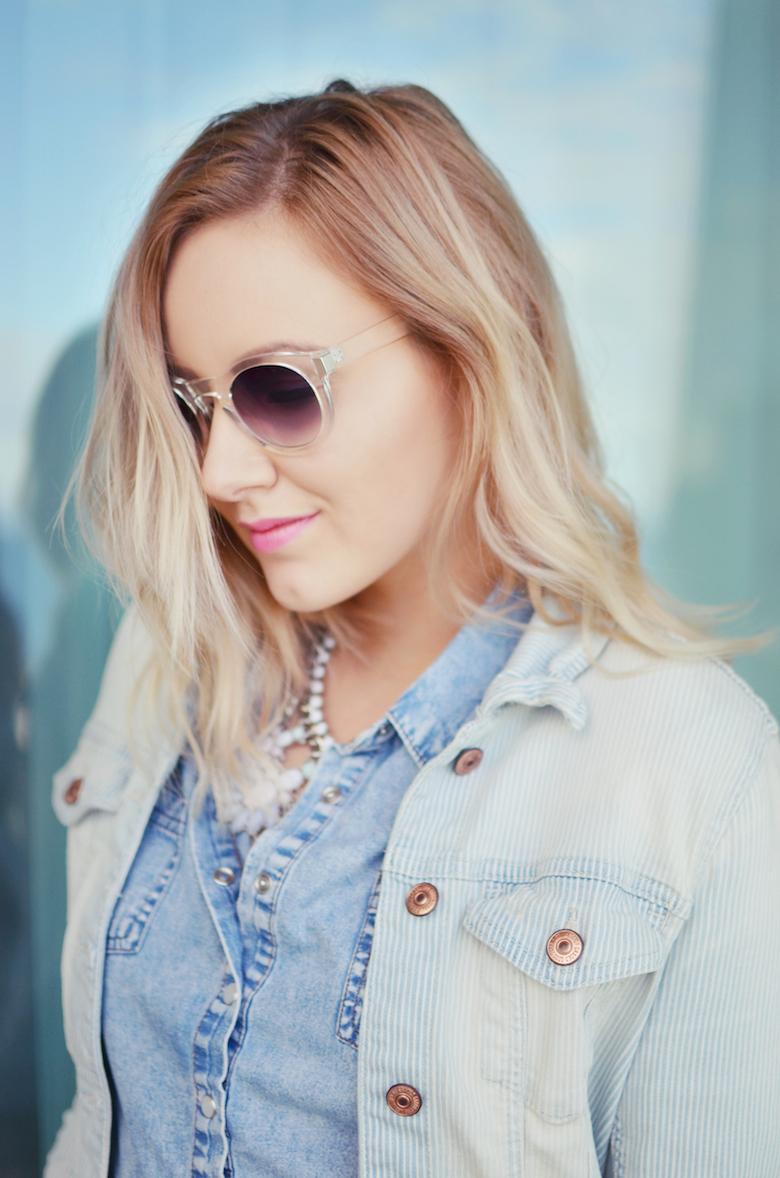 Outfit_Fashionblogger_Jeanshemd_Jeansjacke_Air_Max_ViktoriaSarina