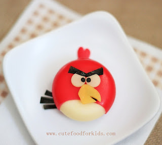 Angry Birds Babybel from Cute Food For Kids