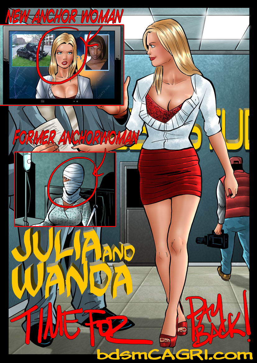 NEW COMIC--- JULIA & WANDA