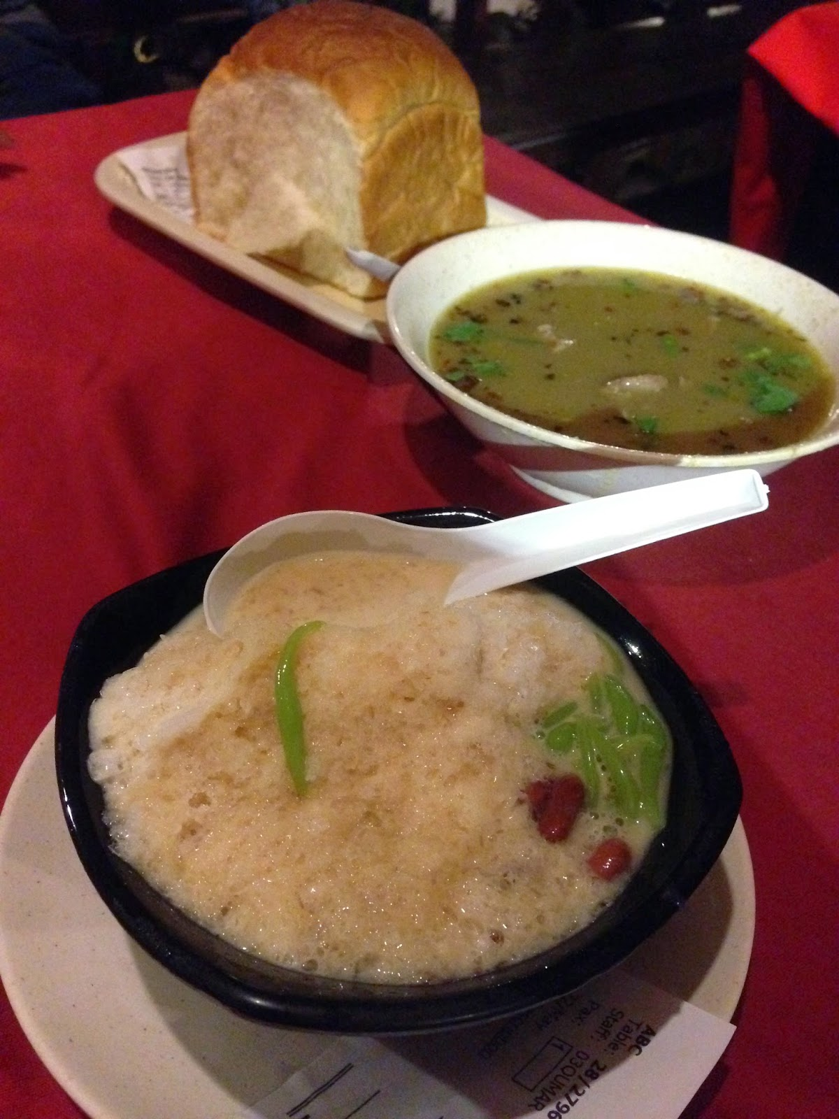 Cendol at Puncak Mutiara Cafe
