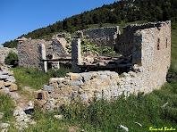 La casa en runes de Rocadecans. Autor: Ricard Badia