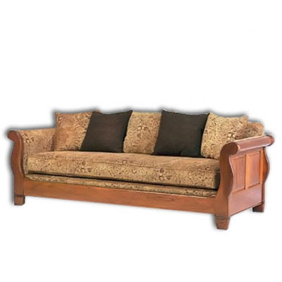 Solid wood sofa design.  An Interior Design