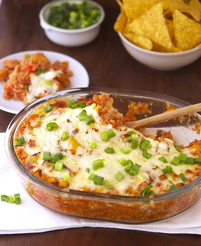 The Iron You: Spicy Mexican Quinoa Casserole