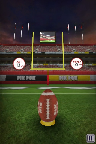 Flick Kick Field Goal Free App Game By Pik Pok