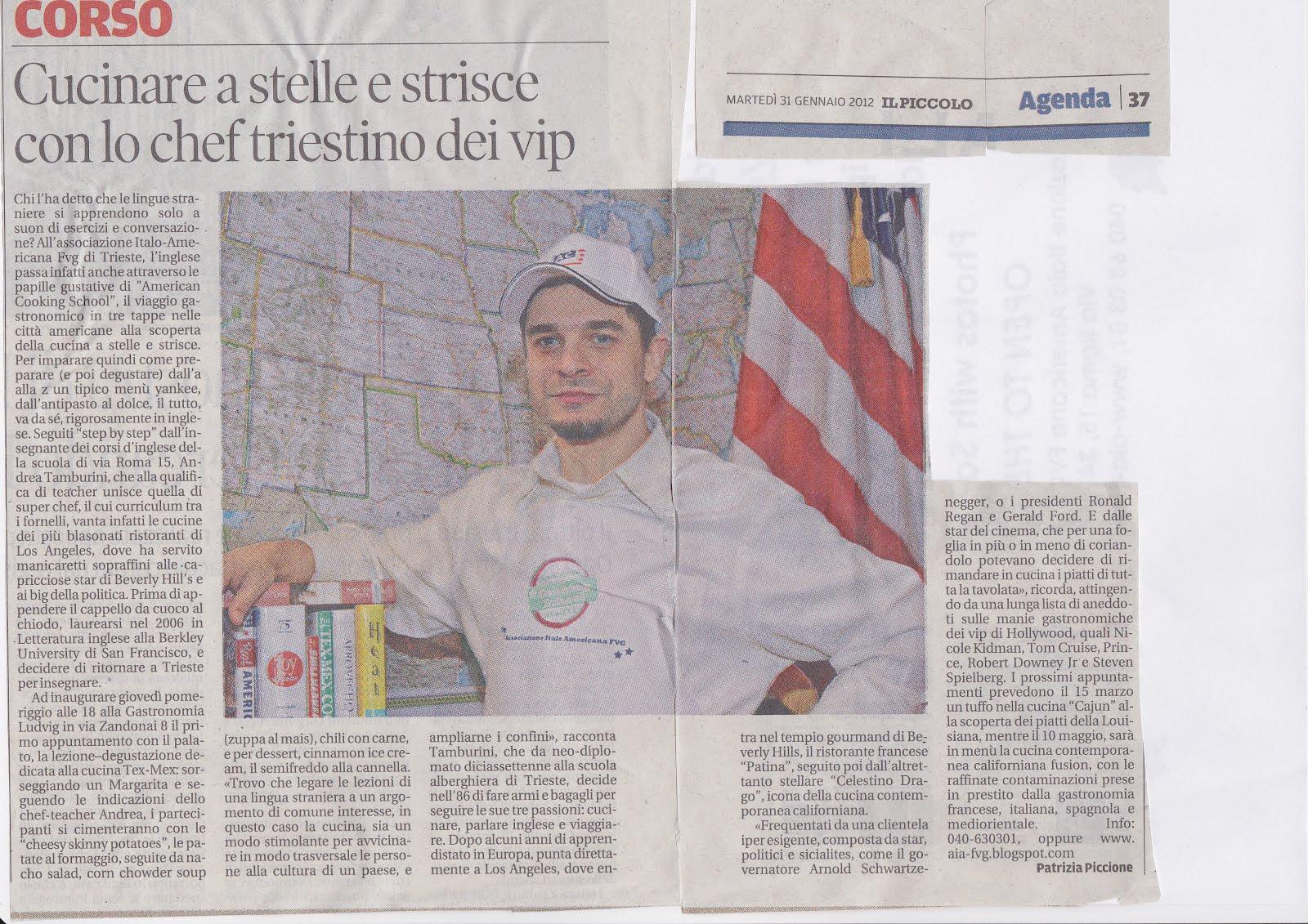 Associazione Italo Americana del Friuli Venezia Giulia: Il Piccolo ...