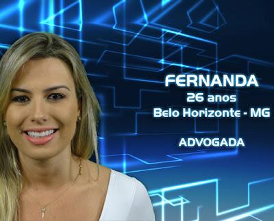 Lista de participantes do BBB 13 - Fernanda - Belo Horizonte MG - Flagras - Fotos