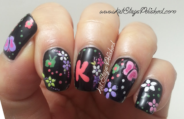 Joby Nail Art - 3D Butterflies & Flowers