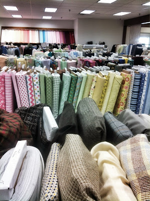 Amish fabric store Shipshewana