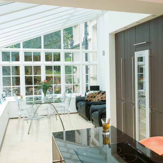 New home interior design kitchen extensions for Adding a conservatory