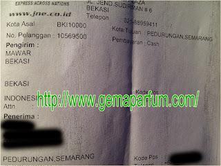 Pengiriman Parfum ke Semarang