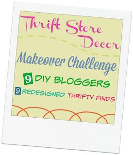 Thrift Store Decor, Citra-Solv Lampshade Transfer, Bliss-Ranch.com