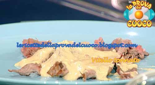Vitello tonnato ricetta La Prova del Cuoco