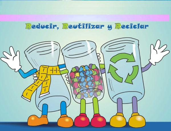 El reciclaje regla de las 3r for Dibujos de las 3 r