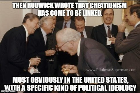 Historian Dr. Martin Rudwick drops research completely in his efforts to slam biblical creationists. Dr. John K. Reed shows that Rudwick suspends reason when rewriting history.