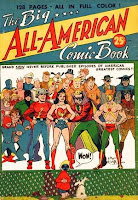 Big All-American Comic Book comic cover