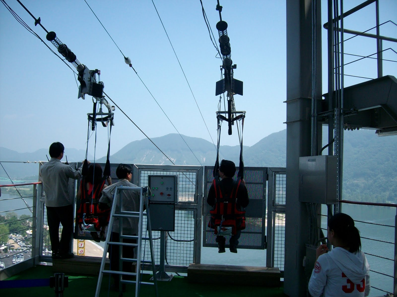 Bling Bling and Traveling: Zip Line to Nami Island