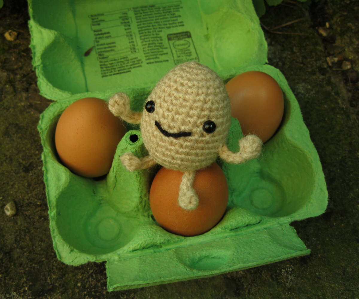 tinytabbit: Little Eggie Amigurumi Pattern