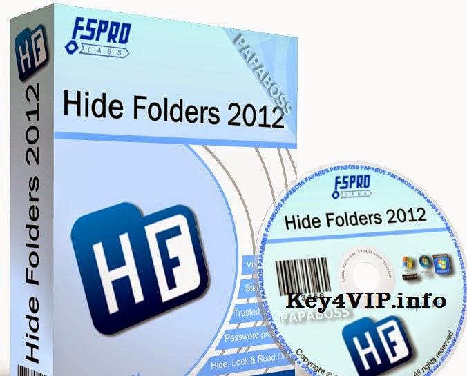 Hide Folders 2012 4.6 Build 4.6.3.929 Final Full Key,Phần mềm Ẩn, khóa, và bảo vệ thư mục bằng mật khẩu