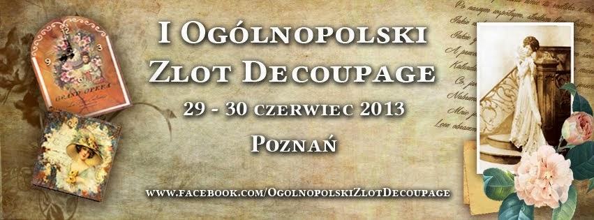 Ogólnopolski Zlot Decoupage w Poznaniu