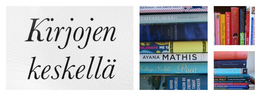 Kirjojen keskellä