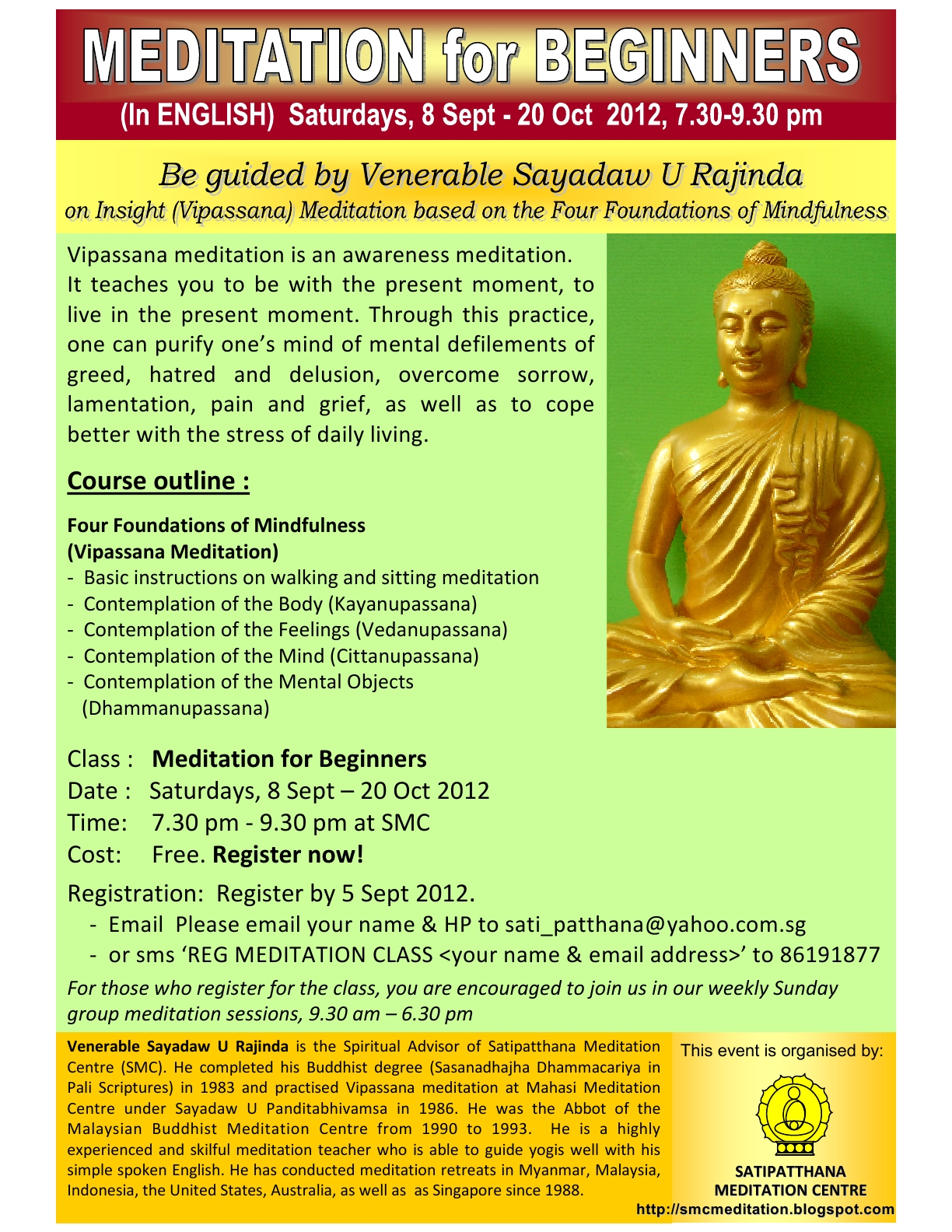 meditation instructions for beginners